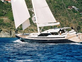 Sailing Yacht SEAQUELL Available for Christmas Charter in the Caribbean