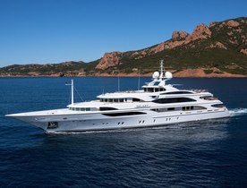 Benetti Charter Yacht GALAXY Completes Major Interior Refit