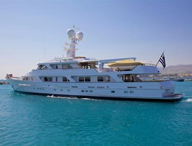 Rebuilt Feadship Superyacht ANCALLIA Now for Charter