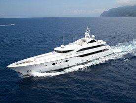 Superyacht TURQUOISE Available to Charter in the Caribbean