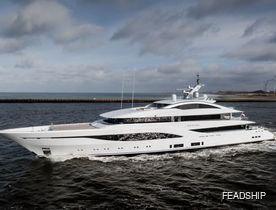 Video: Feadship charter yacht ARROW delivered