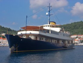 Classic Motor Yacht SEAGULL II Available to Charter in Croatia