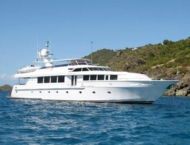 Intermarine Motor Yacht SAVANNAH Available in the Virgin Islands