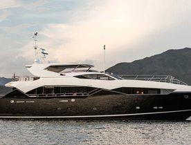 Sunseeker superyacht OKSANCHIK joins Mediterranean charter fleet