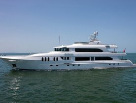 Charter Yact 'JUST ENOUGH' Has Availability for America's Cup
