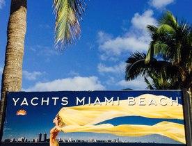 YachtCharterFleet Arrives At Yachts Miami Beach 2016