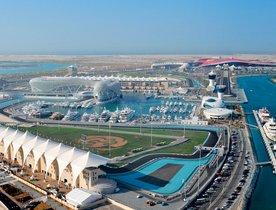 Abu Dhabi Grand Prix Yacht Charter
