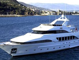 35 Metre Motor Yacht Aladina Available For Charter