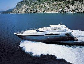 Motor Yacht CLARITY has Charter Gap in the West Mediterranean