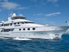 Luxury Yacht ATLANTICA Available in the Bahamas