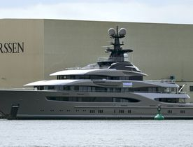 Lürssen Confirm New Superyacht Name as 'Kismet'