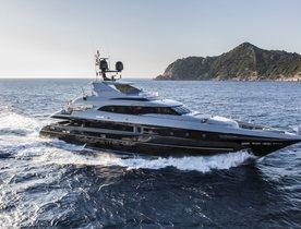 Motor Yacht NAMELESS New to Global Charter Fleet