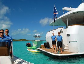 M/Y SWEET ESCAPE to Charter with Rotating Crew