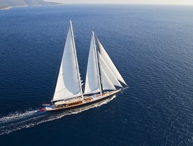REGINA changes name to sailing yacht 'Aria I'