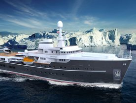 Expedition Yacht LEGEND Undergoing Refit
