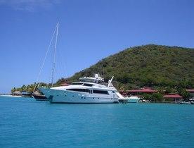 OLGA Charter Yacht Available in the Bahamas
