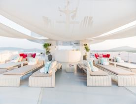 Superyacht SALUZI offers special rate on Mediterranean yacht charters
