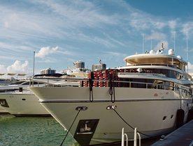 Superyacht 'Julia Dorothy' Hosts Air Jordan 1 Pop-Up At Art Basel Miami