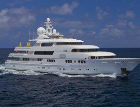 Superyacht TITANIA Charter Discount in the West Mediterranean