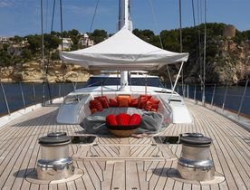 Sailing Yacht 'GANESHA I' Available to Charter From June 30th to July 14th