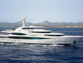 Superyacht 'Lady Christine' Open for America's Cup