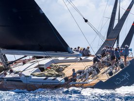 Charter yacht WINDFALL wins class at Les Voiles de Saint Barth