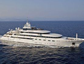 Superyacht O'MEGA set to attend Antigua Charter Yacht Show 2018