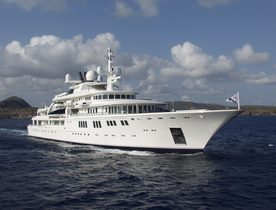 92m superyacht TATOOSH open for Christmas & New Year charters in the Caribbean