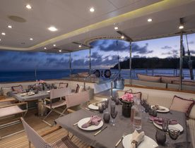 Perini Navi yacht charter deal: sailing yacht BLUSH offers special rate