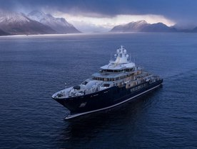 Video: 116m superyacht ULYSSES delivered from Kleven