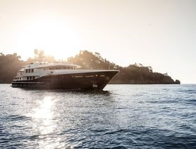 Newly renamed 55m motor yacht REVELRY now available for charter in Mediterranean