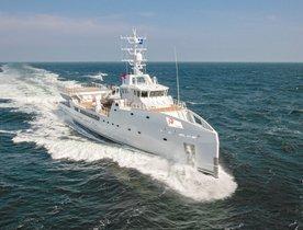 Damen Support Vessel 'Game Changer' Joins Global Charter Fleet