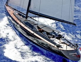 Sailing Yacht 'Moonbird' in the Caribbean