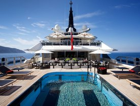 Celebrate the holidays aboard Oceanco's 81m superyacht 'Alfa Nero'