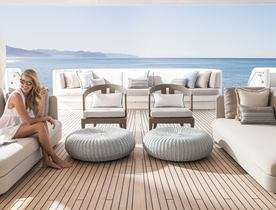 Superyacht TURQUOISE Lowers Charter Rate in South of France