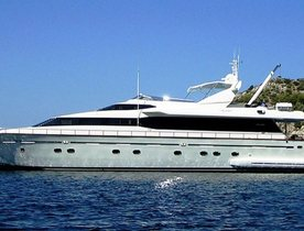 Greece charter deal: Motor yacht 'Falcon Island' offers special rate