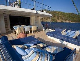 Motor Sailer 'L'Aquila' Joins Charter Fleet