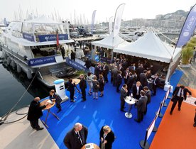 Superyachts flock to Cannes for MIPIM 2019