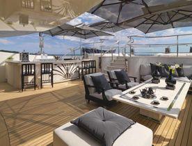 Benetti Superyacht 'Silver Angel' Relocates to the Mediterranean