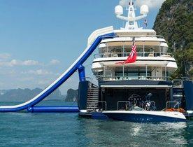 Motor yacht 'Cloud 9' Renamed Charter Yacht 'Ice Angel'