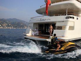 M/Y HANA Offering Special Mediterranean Charter Rates
