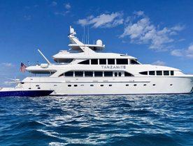 Westship superyacht TANZANITE joins Bahamas charter fleet