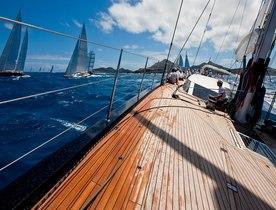 Charter Yachts Prepare for St Barths Bucket Regatta 2017