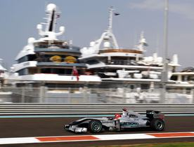 Record Number of Yachts at Abu Dhabi Grand Prix 2013