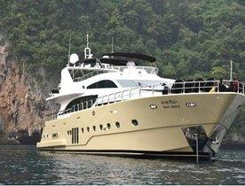 Charter Yacht MAKARENA Refitted And Renamed 'Mia Kai'