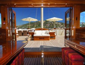 Charter Superyacht NERO in July with no Delivery Fees