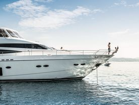 Bahamas charter deal: motor yacht CRISTOBAL offers special rate