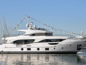 Delfino 95' Launched By Benetti