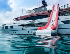 Virgin Islands yacht charter deal: superyacht 'Amarula Sun' offers special rate