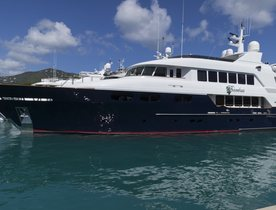 New Photos Reveal Refitted Superyacht BACCHUS